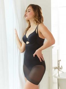 Combinaison gainante extra ferme Noir - WYOB Sheer Slip - Miraclesuit Shapewear