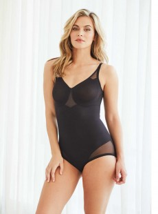 Body sculptant noir - Sexy Sheer Shaping - Miraclesuit Shapewear