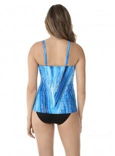 """Tankini Love Knot bleu - Atlantis - """"M"""" - Miraclesuit Swimwear"""