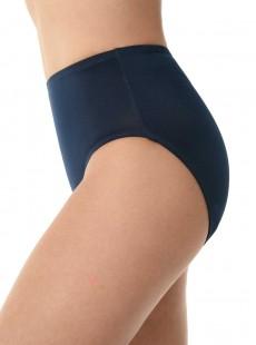 """Culotte de bain classique Bleu - Solid Bottoms - """" M """" - Miraclesuit Swimwear"""
