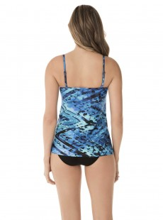 "Tankini Jubilee bleu - Turning Point - "" M "" - Miraclesuit Swimwear"