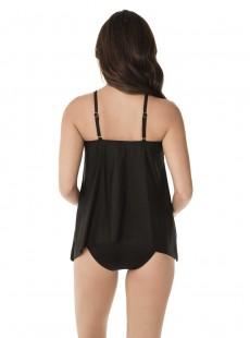 """Tankini Peephole noir - Samsara - """" M """" - Miraclesuit Swimwear"""