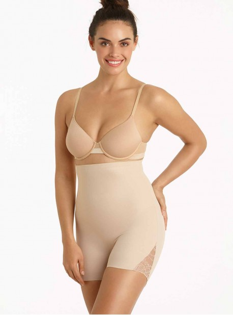 Short gainant taille haute nude - Shape Away - Miraclesuit Shapewear