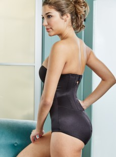 Body gainant forme bustier noir - Shape Away