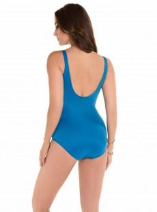 "Maillot de bain gainant Oceanus Bleu Canard - Les Unis - ""M"" - Miraclesuit swimwear"
