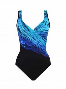 """Maillot de bain gainant It's a Wrap - Blue Pointe -""""W"""" -Miraclesuit"""