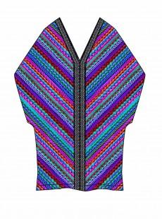 "Caftan Multicolor - Carnivale - ""M"" - Miraclesuit swimwear"