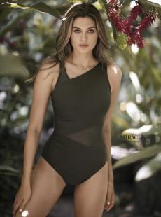"Maillot de bain gainant Azura Olive - Network - ""M"" - Miraclesuit swimwear"