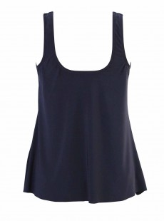 "Ursula Tankini Top Bleu Nuit - Illusionists - ""M"" -Miraclesuit Swimwear"