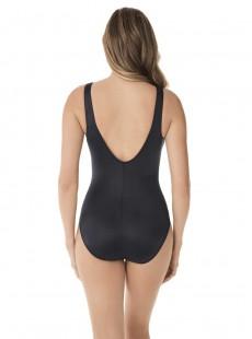 "Maillot de bain gainant Arden Noir - Rock Solid - ""FC"" -Miraclesuit Swimwear"