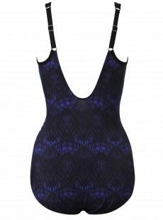 "Maillot de bain gainant Seraphina Bleu - Blue Curacao- ""W"" -Miraclesuit Swimwear"