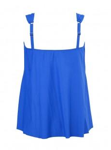 "Dazzle Tankini Top Bleu- Razzle Dazzle - ""M"" - Miraclesuit Swimwear"