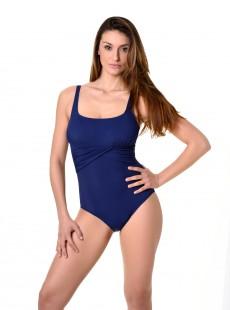 Maillot de bain sculptant 1 pièce navy blu - Mirabasic Era Miradonna