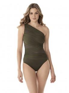 "Maillot de bain 1 pièce gainant Jena vert - Network - "" M "" - Miraclesuit Swimwear"