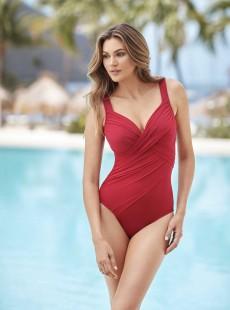 "Maillot de bain gainant Revele Grenadine - Rock Solid - ""M"" - Miraclesuit Swimwear"