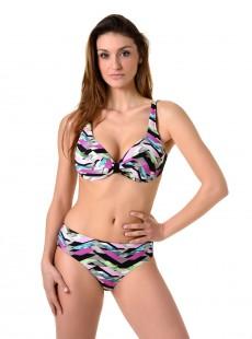 Haut de maillot de bain balconnet - Graphic Camilla
