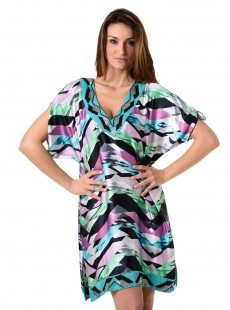 Tunique - Graphic Kaftan