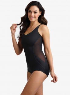 Body gainant Noir - Fit & Firm - Miraclesuit Shapewear