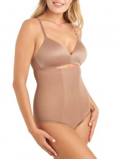 Culotte gainante taille haute Cocoa - Shape with an Edge - Miraclesuit Shapewear