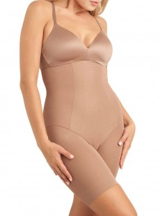 Panty gainant taille extra haute Cocoa - Shape with an Edge - Miraclesuit Shapewear