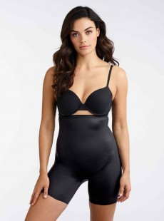 Panty push-up gainant haut Noire - Booty Boost - Miraclesuit Shapewear