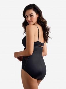 Culotte gainante taille haute Noire - Fit & Firm - Miraclesuit Shapewear