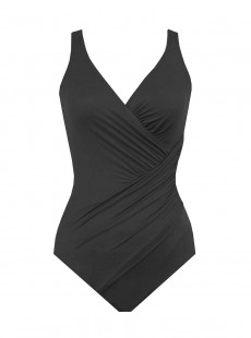 "Maillot de bain gainant Oceanus Noir - Solid -  ""FC"" -Miraclesuit Swimwear"