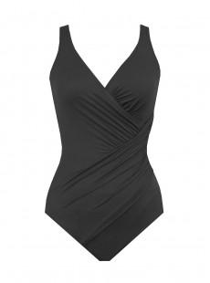 "Maillot de bain gainant Oceanus Noir - Les Unis - ""FC"" - Miraclesuit swimwear"