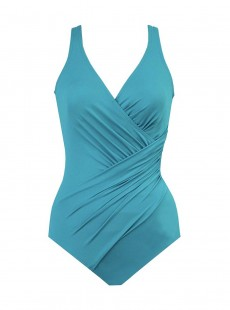 "Maillot de bain gainant Oceanus Bleu clair- Must haves -  ""M"" -Miraclesuit Swimwear"