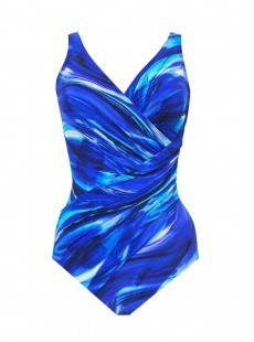 "Maillot de bain gainant Oceanus - The breakers - ""M"" -Miraclesuit Swimwear"