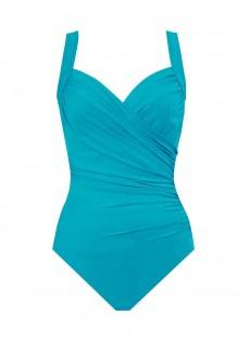 "Maillot de bain gainant Sanibel bleu clair - Must haves -  ""W"" -Miraclesuit Swimwear"
