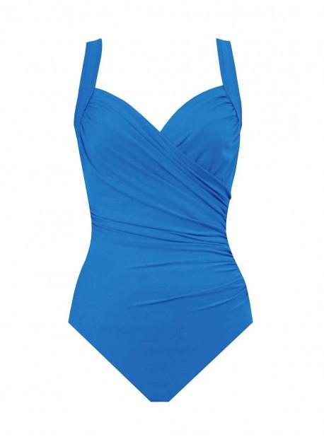 "Maillot de bain gainant Sanibel bleu - Must haves -  ""M"" -Miraclesuit Swimwear"