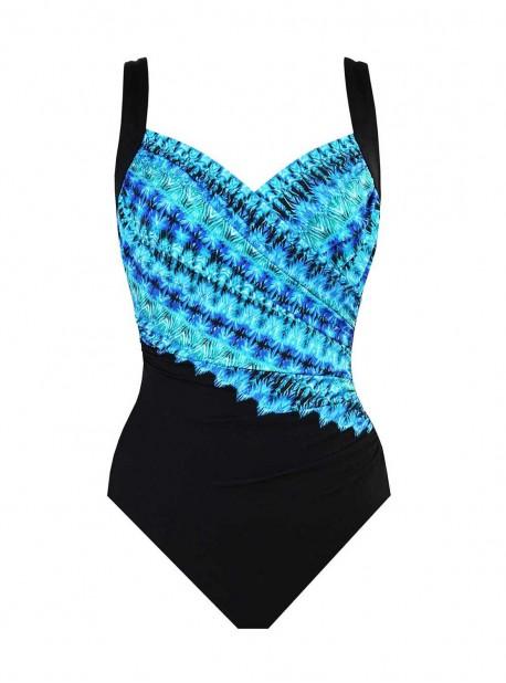 "Maillot de bain gainant Sanibel - Cabana chic - ""FC"" - Miraclesuit Swimwear"