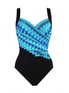 "Maillot de bain gainant Sanibel - Cabana chic - ""W"" - Miraclesuit Swimwear"
