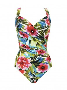 "Maillot de bain gainant Sanibel  - Belles Rives - ""M"" - Miraclesuit swimwear"