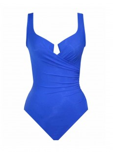"Maillot de bain gainant Escape Bleu - Must Haves - ""M"" - Miraclesuit swimwear"