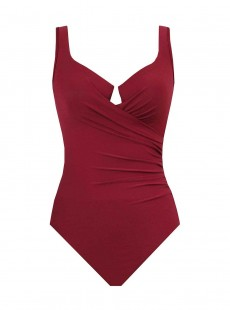 "Maillot de bain gainant Escape Rouge Foncé - Must haves - ""M"" -Miraclesuit Swimwear"