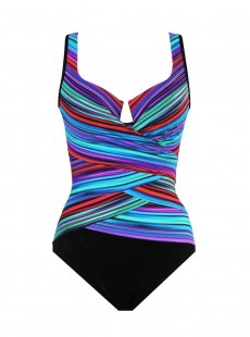 "Maillot de bain gainant Escape - True colors - ""M"" -Miraclesuit Swimwear"
