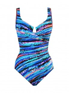 "Maillot de bain gainant Escape - Animal Spectrum- ""M"" -Miraclesuit Swimwear"