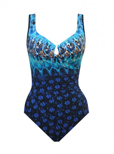 "Maillot de bain gainant Escape - Sunset cay - ""M"" - Miraclesuit Swimwear"