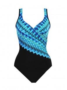 "Maillot de bain gainant It's a Wrap - Cabana chic - ""M"" - Miraclesuit Swimwear"