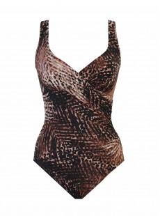 "Maillot de bain gainant Sauvage - It's A Wrap - ""M"" - Miraclesuit swimwear"