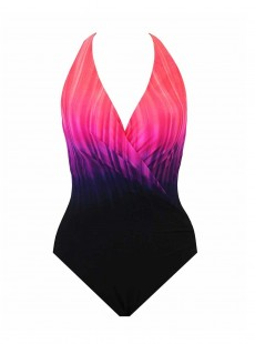 "Maillot de bain gainant Wrapsody Sunrise - Belle Trois Sunrise - ""M"" - Miraclesuit swimwear"