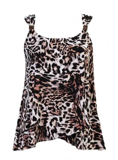 "Tankini Dazzle - Sublime Feline - ""M"" - Miraclesuit swimwear"