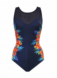 "Maillot de bain gainant Fascination - Samoan Sunset - ""M"" -Miraclesuit Swimwear"
