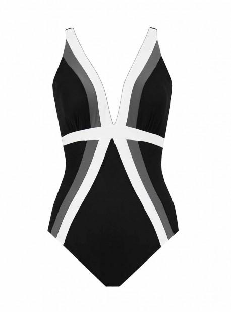 "Maillot de bain gainant Trilogy  - Spectra - ""M"" - Miraclesuit swimwear"
