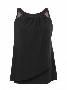 "Ursula Tankini Top Noir - Illusionists - ""M"" -Miraclesuit Swimwear"