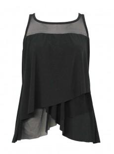 """Tankini Mirage Noir - Illustionists - """"FC"""" -Miraclesuit Swimwear"""