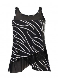 "Tankini Mirage - Chain Reaction - ""M"" - Miraclesuit Swimwear"