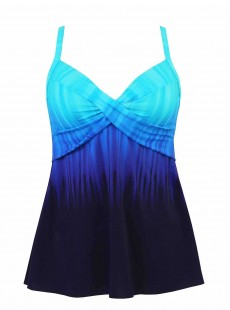"Myrra Tankini Top Twilight - Belle Trois Twilight - ""M"" - Miraclesuit swimwear"